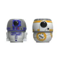 Classic Star Wars R2D2 & BB-8 Coffee Mugs , 2-piece set