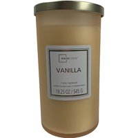 Mainstays Frosted Glass Single-Wick Candle 19 oz