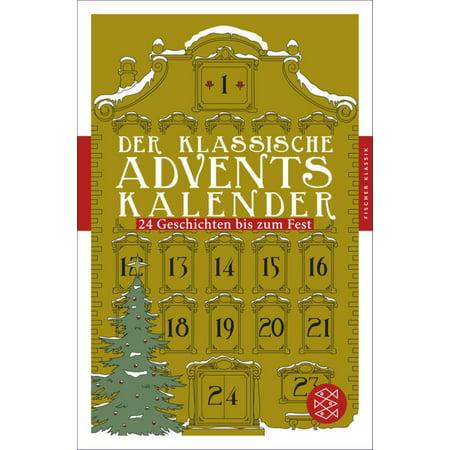 Der klassische Adventskalender - eBook (Klassische Farbtöne)
