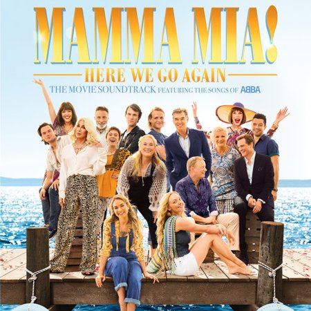 Mamma Mia!: Here We Go Again (The Movie Soundtrack Featuring the Songs of ABBA) (Vinyl)