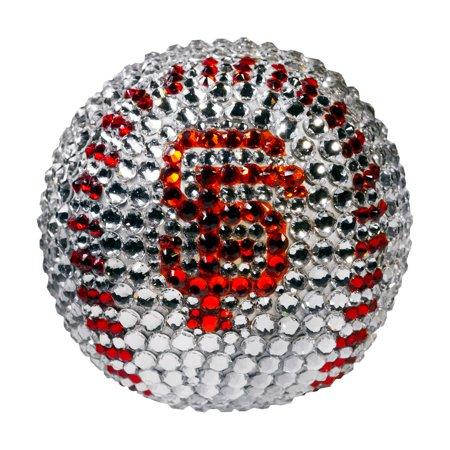 San Francisco Giants Crystal Baseball - No Size