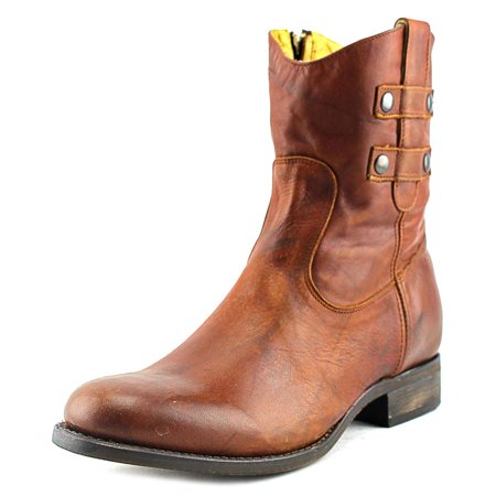 the latest 7fa32 8cdee Justin Boots MSL106 Women Round Toe Leather Tan Western Boot