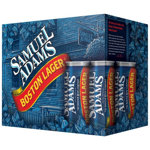 Samuel Adams Boston Lager Beer, 12 fl oz, 12-pack
