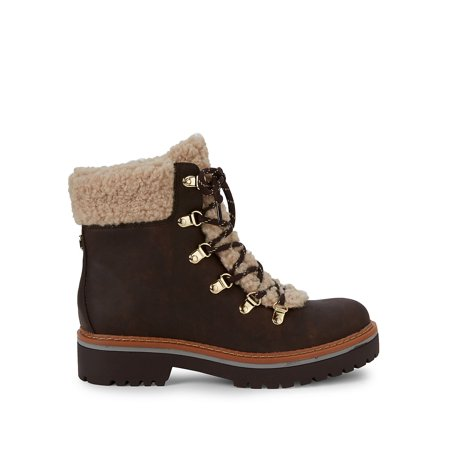 Best Ron Faux Fur Treaded Boots deal