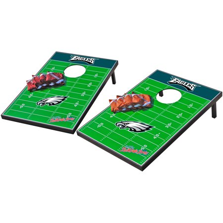 Wild Sports NFL Philadelphia Eagles 2x3 Field Tailgate Toss