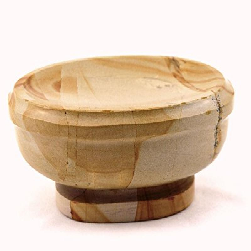 Nature Home Decor 303TW Teak Marble Soap Dish of Atlantic Collection