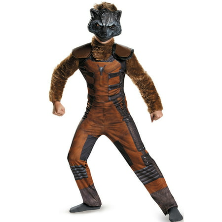 Rocket Raccoon Deluxe Child Halloween Costume](Raccoon Halloween Costume)