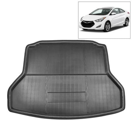 Car Rear Trunk Liner Cargo Mat Floor Tray for Hyundai Elantra 17-18