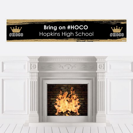 HOCO Dance - Homecoming Decorations Party Banner](Homecoming Party)