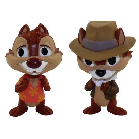 Funko Mystery Minis Vinyl Figures - The Disney Afternoon S1 - SET OF 2 (Chip and Dale)