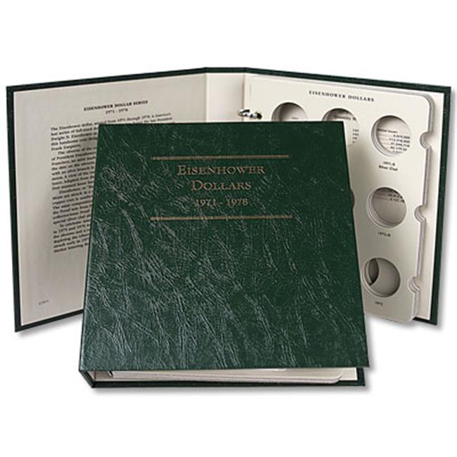 Littleton Coin LCA11 Eisenhower Dollar Album 1971-1978- C...