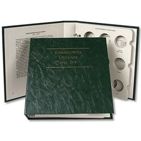 Littleton Coin LCA11 Eisenhower Dollar Album 1971-1978- Case of