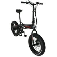 Vilano NEUTRON Electric Folding Fat Bike, 20-Inch Wheels