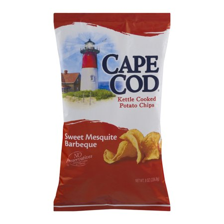 Cape Cod Kettle Cooked Potato Chips Sweet Mesquite Barbeque  8 0 Oz