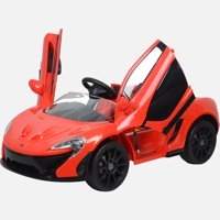 Kool Karz McLaren P1 Butterfly Doors 12V Electric Ride On Toy Car, Red