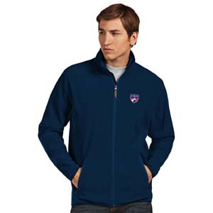 FC Dallas Mens Ice Polar Fleece Jacket (Color: Navy)