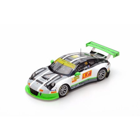Porsche 911 GT3 R n.912 2nd Macau GT World Cup 2016 Resin Model in 1:43 Scale by Spark