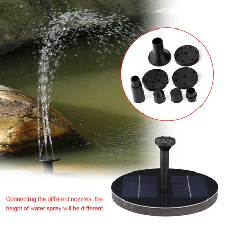 Lv. life Solar Power Floating Fountain Water Pump for Garden Pond Pool Fish Tank,Water Pump, Floating Water Pump