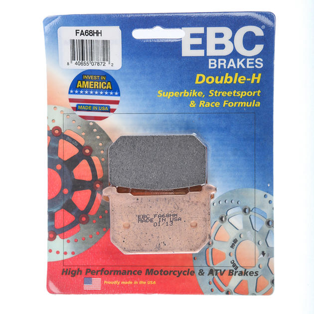 EBC Double-H Sintered Brake Pads Rear Fits 1983 Kawasaki KZ750F Ltd