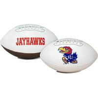 Kansas Jayhawks Football Full Size Embroidered Signature Series
