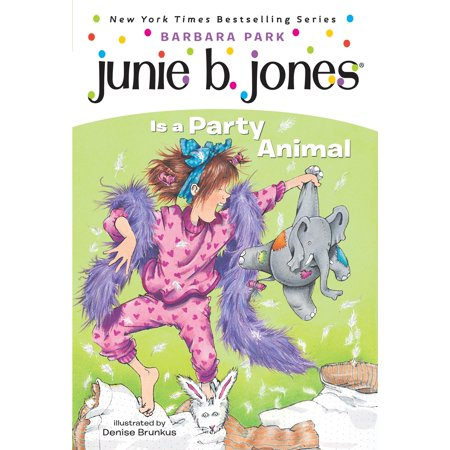 Junie B. Jones #10: Junie B. Jones Is a Party Animal (Paperback) (Margarita Jones Halloween)