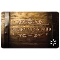 Barrel Aged Walmart Gift Card