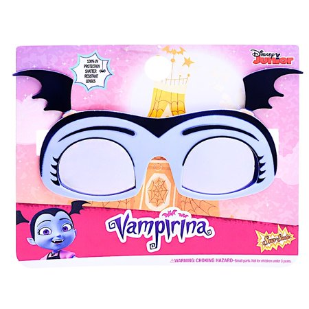 Halloween Disfraz De Vampira (Party Costumes - Sun-Staches - Vampirina Lil' Kids Cosplay)