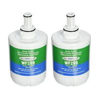 Aqua Fresh Water Filter Fits Samsung Water Sentinel WSS-1 Refrigerators (2 Pack)