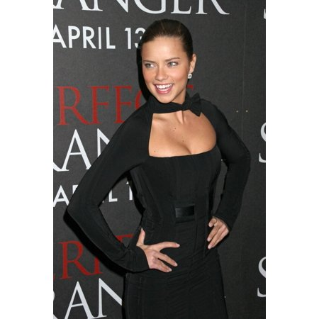 Adrianna Collection - Adrianna Lima At Arrivals For Perfect Stranger Premiere Ziegfeld Theatre New York Ny April 10 2007 Photo By Rob RichEverett Collection Celebrity
