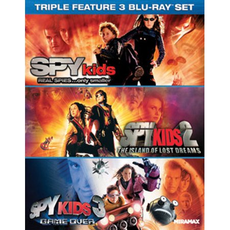 Spy Kids Collection (Blu-ray) (Spy Optic Cyrus)