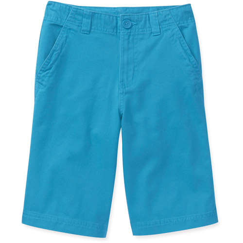 Faded Glory Boys Colored Flat Front Twill Shorts