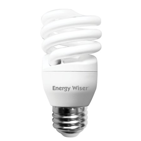 Bulbrite Industries 13 Watt Super Mini Low-Mercury Compact Fluorescent Light Bulb (Set of 8)