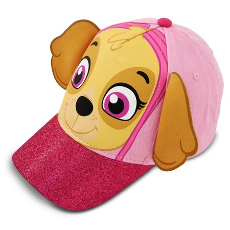 quality design 3347d 4cebe Nickelodeon - Nickelodeon Paw Patrol Skye Character Cotton Baseball Cap,  Toddler Girls, Age 2-4 - Walmart.com