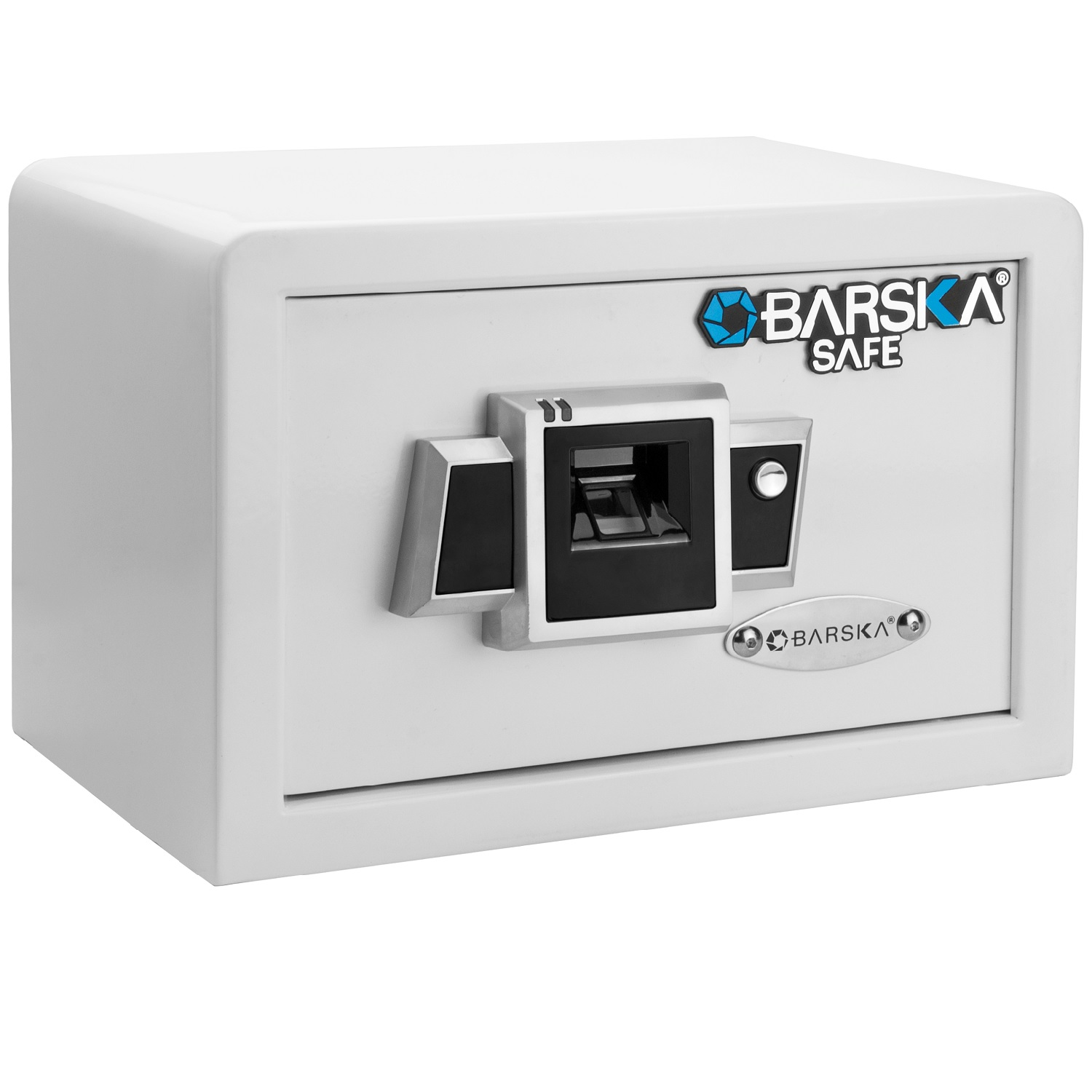 Barska BX100 Compact Biometric Security Safe-White
