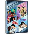 4 Film Favorites: Elvis Presley Girls: Girls! Girls! Girls! / Easy Come Easy Go / The Trouble With Girls / Girl Happy