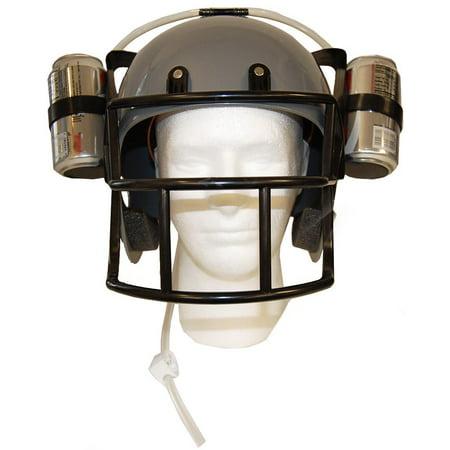 Football Drinking Helmet - Silver Novelty Item](Novelty Helmet)