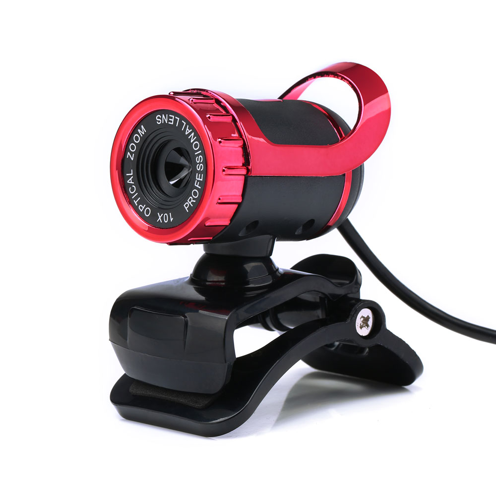 Zimtown USB 2.0 360°Webcam Web Camera HD 50MP with MIC Clip-on For Computer PC Laptops