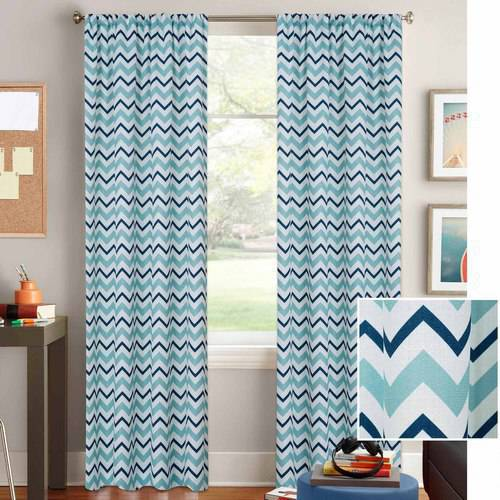 Better Homes and Gardens Chevron Curtain Panel - Walmart.com