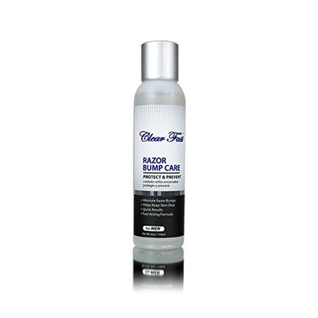 Clear Fast Razor Bump Liquid for Men, 4