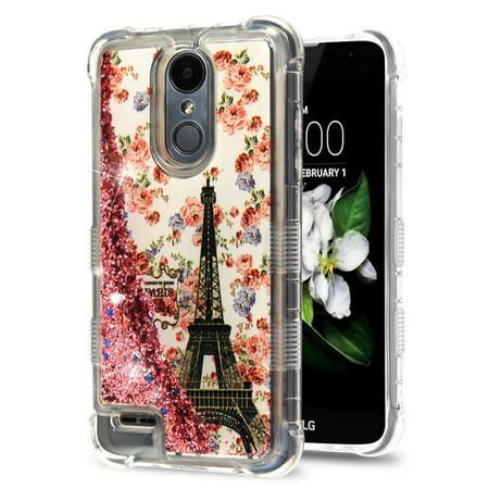LG Aristo 2 case by Insten Luxury Quicksand Glitter Liquid Floating Sparkle  Bling Fashion Phone Case Cover for LG Aristo 2 / Aristo 2 Plus / Fortune 2
