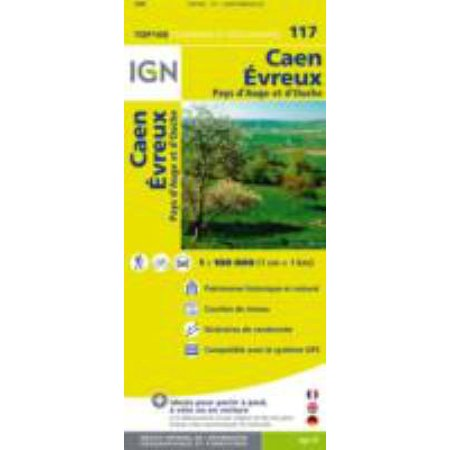 Caen / Evreux ign (Ign Map) (Map) - Ign Department Map