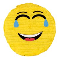 Laughing Emoji Party Pinata Traditionally Handcrafted