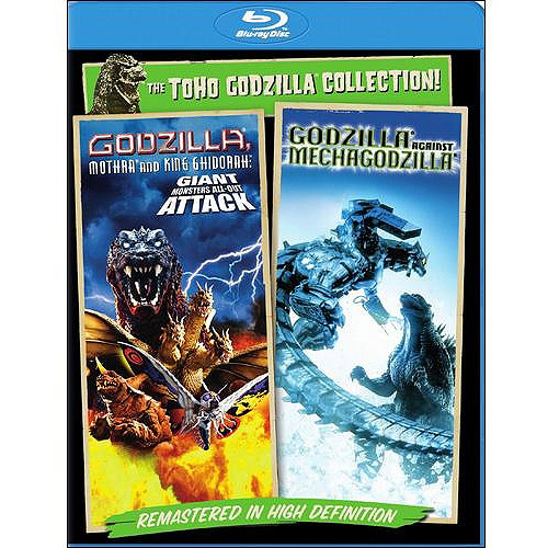 Godzilla Against Mechagodzilla (2002) / Godzilla, Mothra, And King Ghidorah: Giant Monsters All-Out Attack (Blu-ray + Digital HD) (Widescreen)