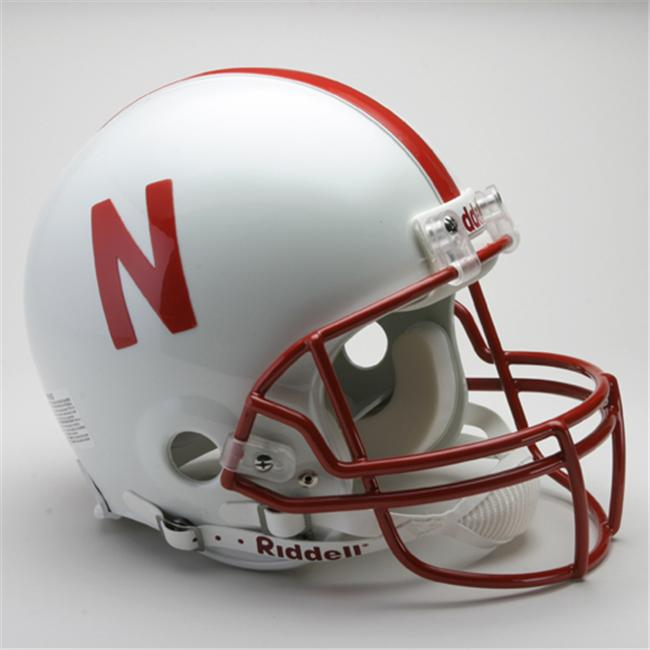 Victory Collectibles 31439 Rfa C Nebraska - Cornhuskers Full Size Authentic Helmet by Riddell