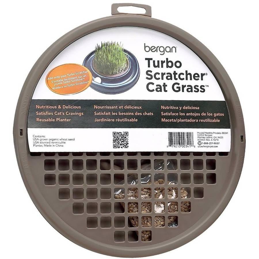 Bergan; Turbo Scratcher & Star Chaser Cat Grass