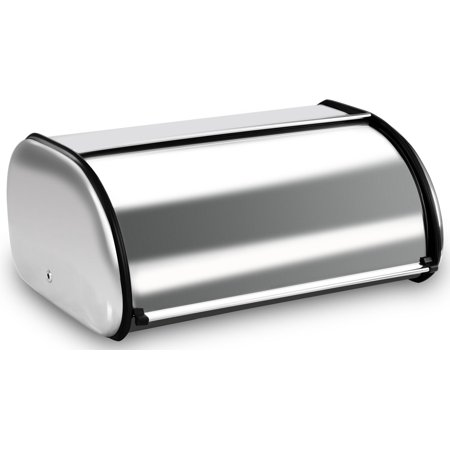 Utopia Kitchen Bread Storage Box - Stainless Steel Construction with Roll up Lid for Kitchen](Construction Containers)