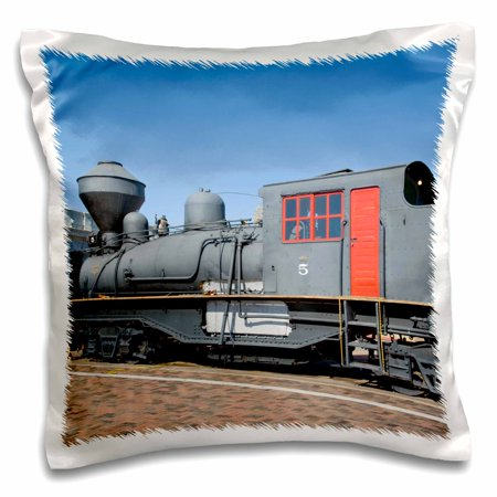 3dRose Arizona, Grand Canyon Railway, steam train - US03 JWI0334 - Jamie and Judy Wild - Pillow Case, 16 by 16-inch ()