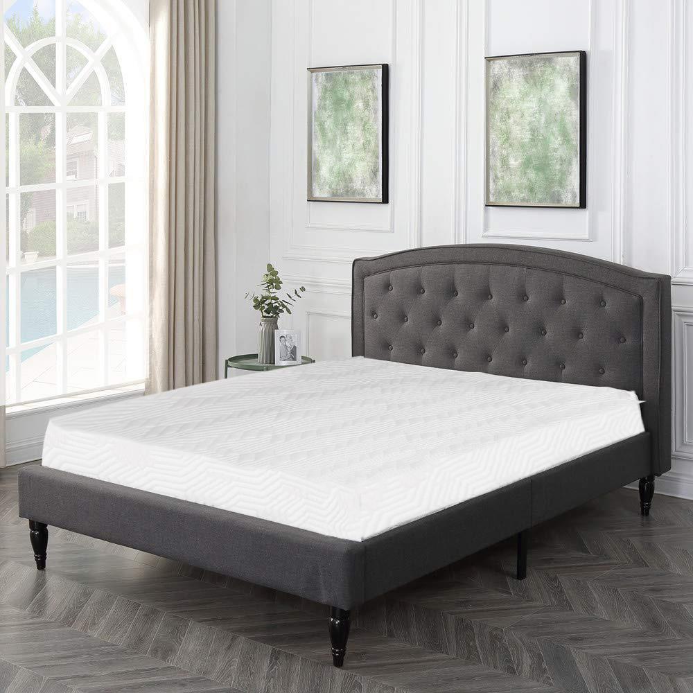 Ktaxon 10 Inch 3 Layer Mattress COOL Medium firm Home Bed Full Size Bonus With 2 Pillow