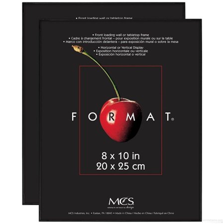 The ORIGINAL FORMAT FRONT-LOAD Black 8x10 frame - 2