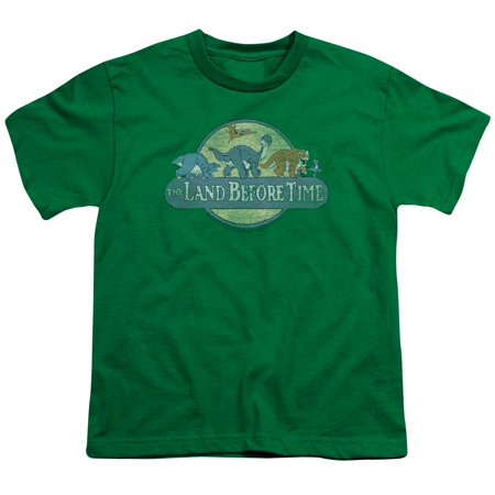 Land Before Time Retro Logo Big Boys Youth Shirt - Boys Retro